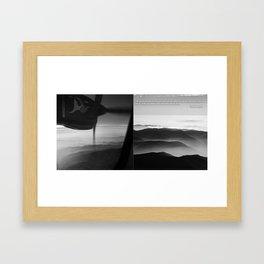 MOUNT EVEREST 002 Framed Art Print