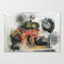 Todays mind Canvas Print