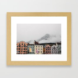 Austrian Aesthetic Framed Art Print
