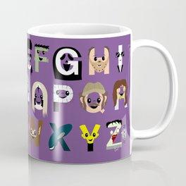 Horror Icon Alphabet Coffee Mug