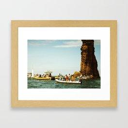 Summer nostalgia Framed Art Print