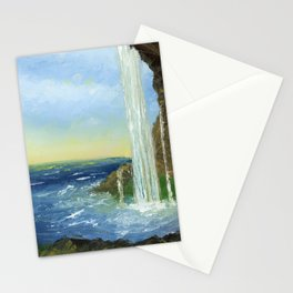 Waterfall Art By Daniel MacGregor Stationery Cards