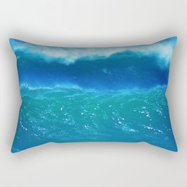 Rogue Waves in Ocean Surf Rectangular Pillow
