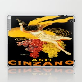 Vintage poster - Asti Cinzano Laptop & iPad Skin