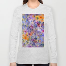 Yellow Primrose Garden Long Sleeve T-shirt