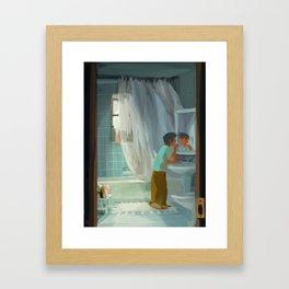 Lazy Morning Framed Art Print