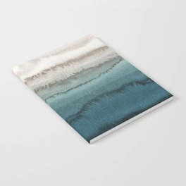 WITHIN THE TIDES - CRASHING WAVES TEAL Notebook