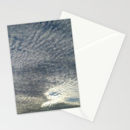 London Eye, Cloudy Sky Stationery Cards