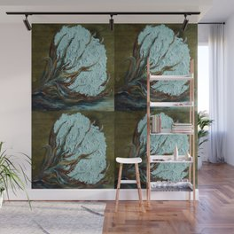 Four Square Cotton Wall Mural