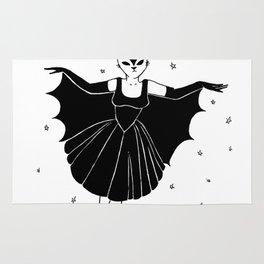 Bat girl is not bad Rug