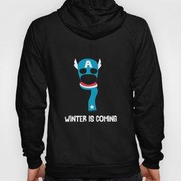 Captain America Preparing for Winter Hoody