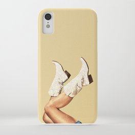 These Boots - Glitter & Tan iPhone Case