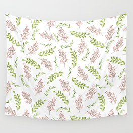 Red Berries Wall Tapestry