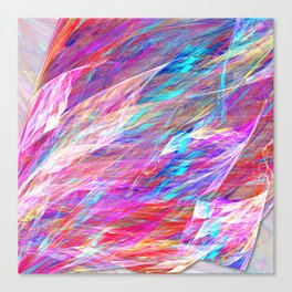 Jewels Unfurling Canvas Print