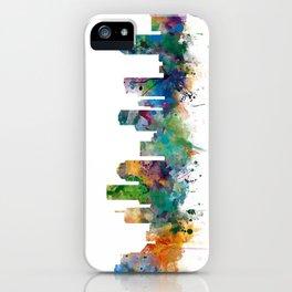 Houston Skyline iPhone Case