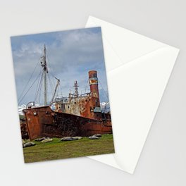 Abandoned Whaling Ships Stationery Cards
