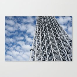 ARCH ABSTRACT 3: SkyTree Tower, Tokyo Canvas Print