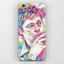 Brad Pitt (Creative Illustration Art) iPhone Skin