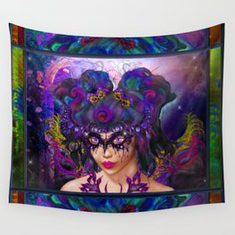 Faerie Masquerade Wall Tapestry