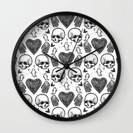 Ghostly Dreams II Wall Clock