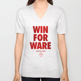 Win For Ware Unisex V-Neck