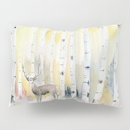 Birch Forest In The Morning Pillow Sham