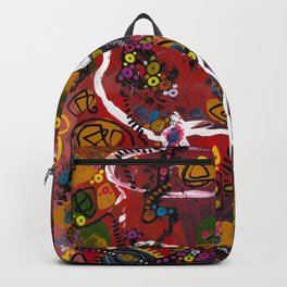 """""""eruption and rebirth"""" Backpack"""