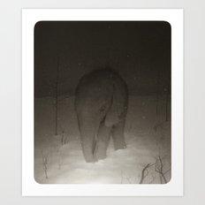 Pachyderm Art Print