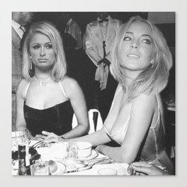 FEUD: Paris and Lindsay Canvas Print