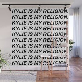 KYLIE IS MY RELIGION. Wall Mural