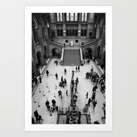British Natural History Museum Art Print