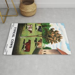 Typical Cows Rug