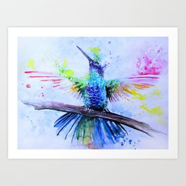Magic Bird Art Print