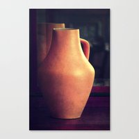 antique Canvas Prints featuring antique by Claudia Drossert