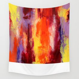 Palette knife paiting Wall Tapestry
