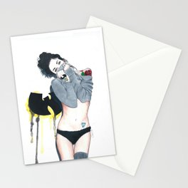 The Love Of Wutang Stationery Cards