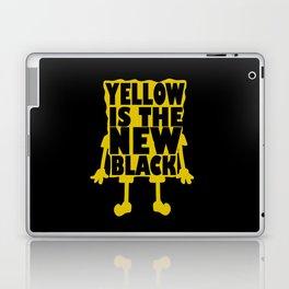 Yellow is the new black Laptop & iPad Skin