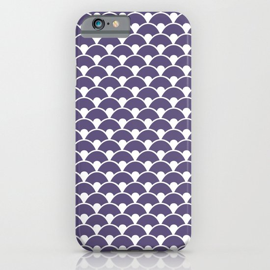 Dragon Scales Deep purple iPhone & iPod Case