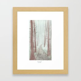 Sonoma: Armstrong Woods Framed Art Print