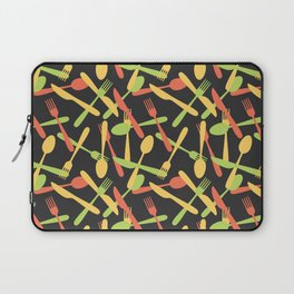Cutlery kitchen silverware colored Laptop Sleeve