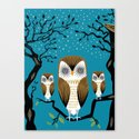 Three Lazy Owls by oliverlake