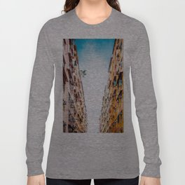 Residential aprtment in old district, Hong Kong Long Sleeve T-shirt