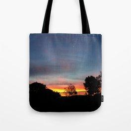 Lurid Dawn: 10.08.15 Tote Bag
