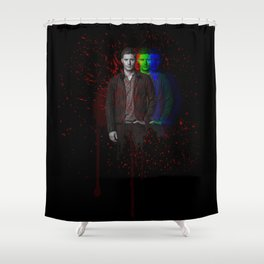 "The ""Innocent"" Man Shower Curtain"