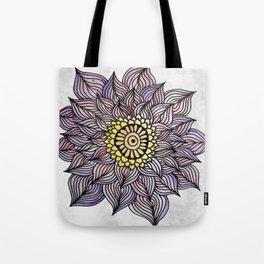 Purink Flower Tote Bag