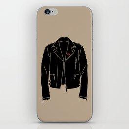 Leather Jacket - HANDSOME DEVIL'S CLUB (3/3) iPhone Skin