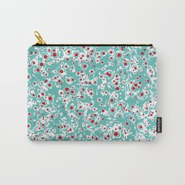 red wild dots Carry-All Pouch