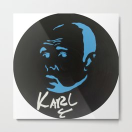 Karl Pilkington  Metal Print
