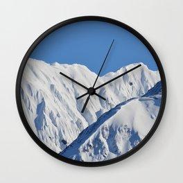 Portage Valley Mts. Wall Clock