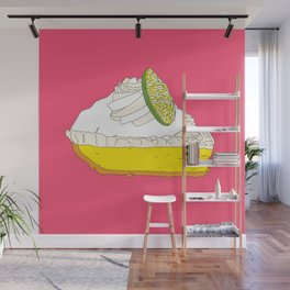 Key Lime Pie Wall Mural